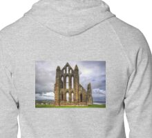 Whitby Abbey Remains Zipped Hoodie