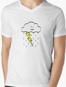 Happy Storm Mens V-Neck T-Shirt