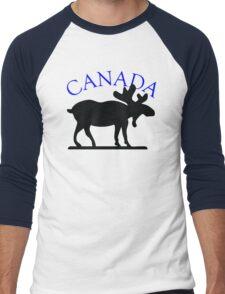 Canada Moose Men's Baseball ¾ T-Shirt