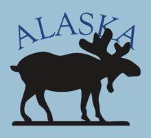 Alaska Moose by pjwuebker
