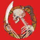 Skeleton Warrior by gcrows