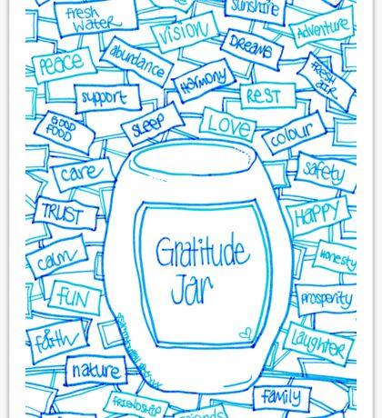 Gratitude Jar Sticker