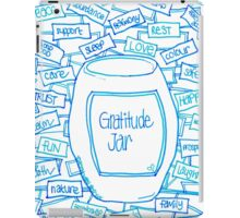 Gratitude Jar iPad Case/Skin