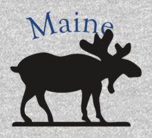 Maine Moose Kids Tee