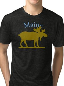 Maine Moose Tri-blend T-Shirt