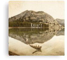 Reflect:Tenaya Lake Canvas Print
