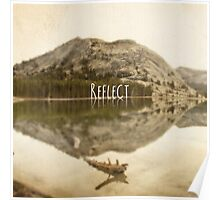 Reflect:Tenaya Lake Poster