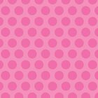 Pink Polka Dot iPad Case by Louise Parton