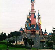 Disneyland Paris- Castle by Margybear