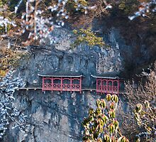 Tianmen Mountain Corridor by Yincinerate