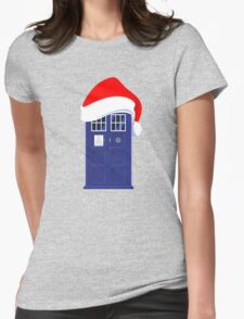 Santa Who Womens Fitted T-Shirt