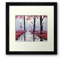 Mystic Landscape Framed Print