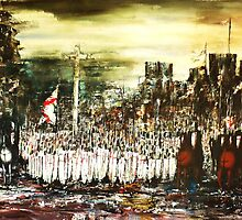 Crusade - Assembly at Dawn by Kaye Miller-Dewing
