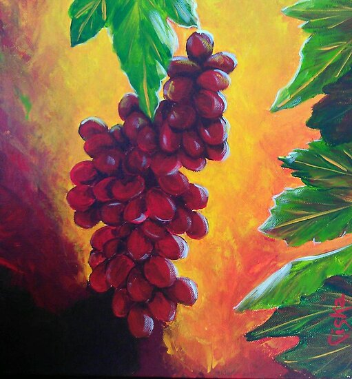 Taste of Grapes by Ciska