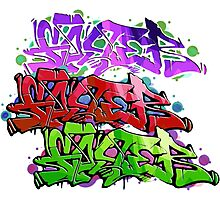 Wildstyle Graffiti Photographic Print