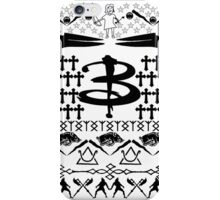 Buffy Ugly Holiday Sweater Pattern iPhone Case/Skin