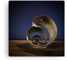 Orion and the Shell Canvas Print