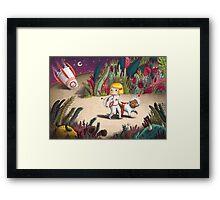 Astronaut astray Framed Print
