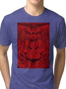 Red Meltdown Tri-blend T-Shirt