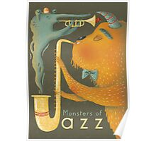 Monsters of Jazz Poster