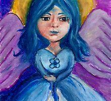 Blue Angel by Jennifer Ferdinandsen