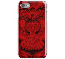 Red Meltdown iPhone Case/Skin