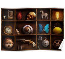 Steampunk - A box of curiosities Poster