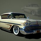 1950's Classic and Custom Chevrolet Calendar by TeeMack