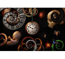 Steampunk - Abstract - The beginning and end Photographic Print