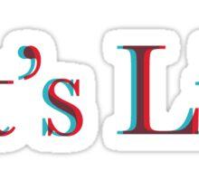 Untitled II Sticker