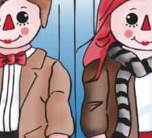 Raggedy Man and Amy Sticker