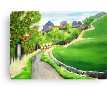 Road to Osgodby Canvas Print