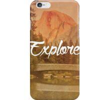 Explore: Half Dome iPhone Case/Skin