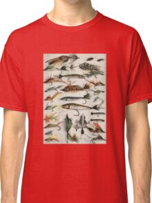 1920's Fishing Flies Classic T-Shirt