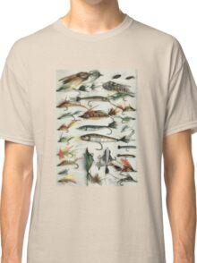 1920's Fishing Flies Classic T-Shirt