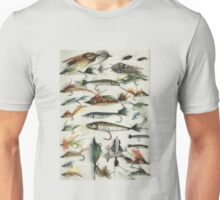 1920's Fishing Flies Unisex T-Shirt