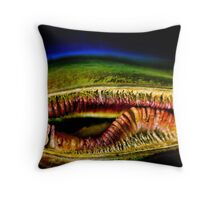 The big mouth! Throw Pillow