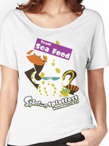 Splatfest Team Sea Food v.1 Women's Relaxed Fit T-Shirt