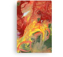 Abstract - In a state of flux Canvas Print