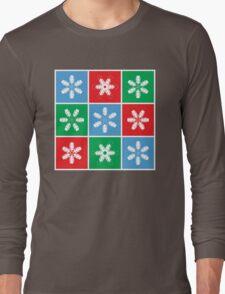 Holiday Snowflake Lanterns  Long Sleeve T-Shirt