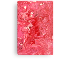 Abstract - My ice cream melted Metal Print