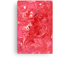 Abstract - My ice cream melted Canvas Print