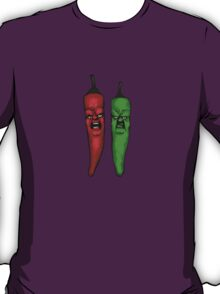 two angry chili pepers T-Shirt