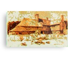 Beautiful Britain - A Cottage in Crawley, Sussex in 1906 Metal Print
