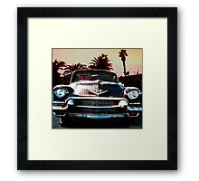 CADILLAC BLUES Framed Print