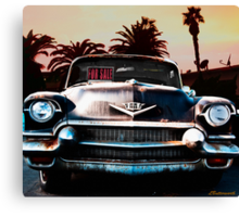 CADILLAC BLUES Canvas Print