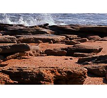 Rocky Surf  Photographic Print