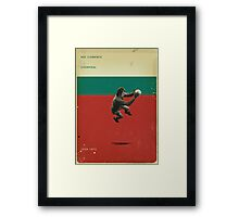 Ray Clemence - Liverpool Framed Print