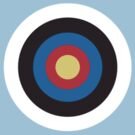 bull's eye right on target small by TOM HILL - Designer