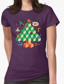 RETRO HOLIDAY! Womens Fitted T-Shirt